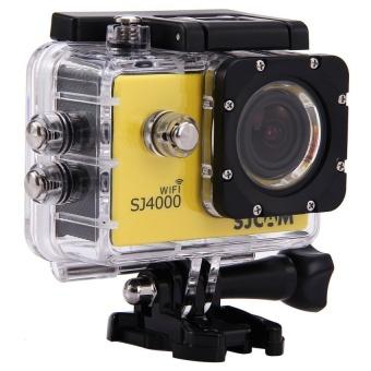 SJCAM SJ4000 Action Camera Diving 30M Waterproof Camera 1080P Full HD 170 Degree Sports DV (Yellow) - intl