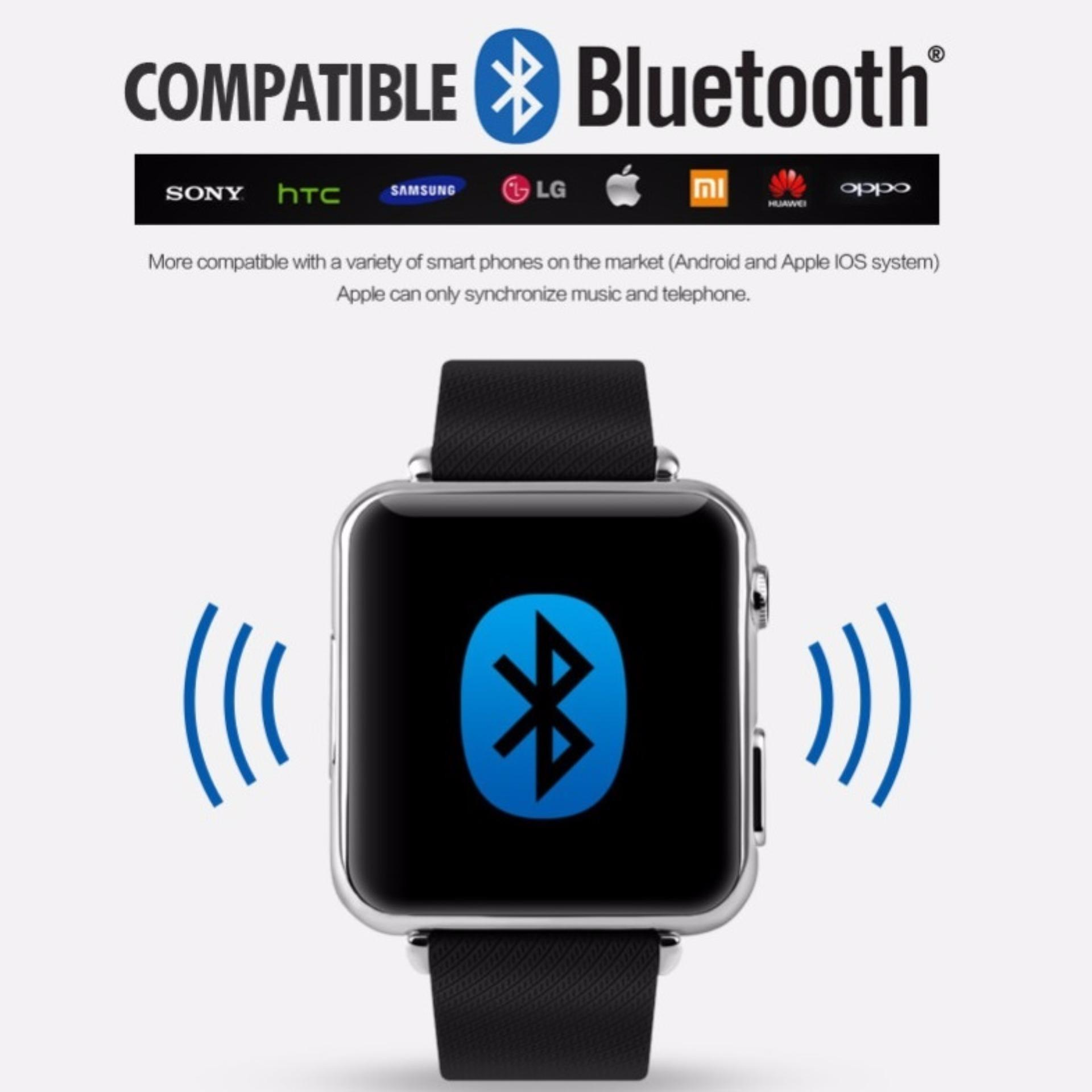 SKMEI Smart LED Bluetooth Smartwatch for iOS and Android - 1152SM .