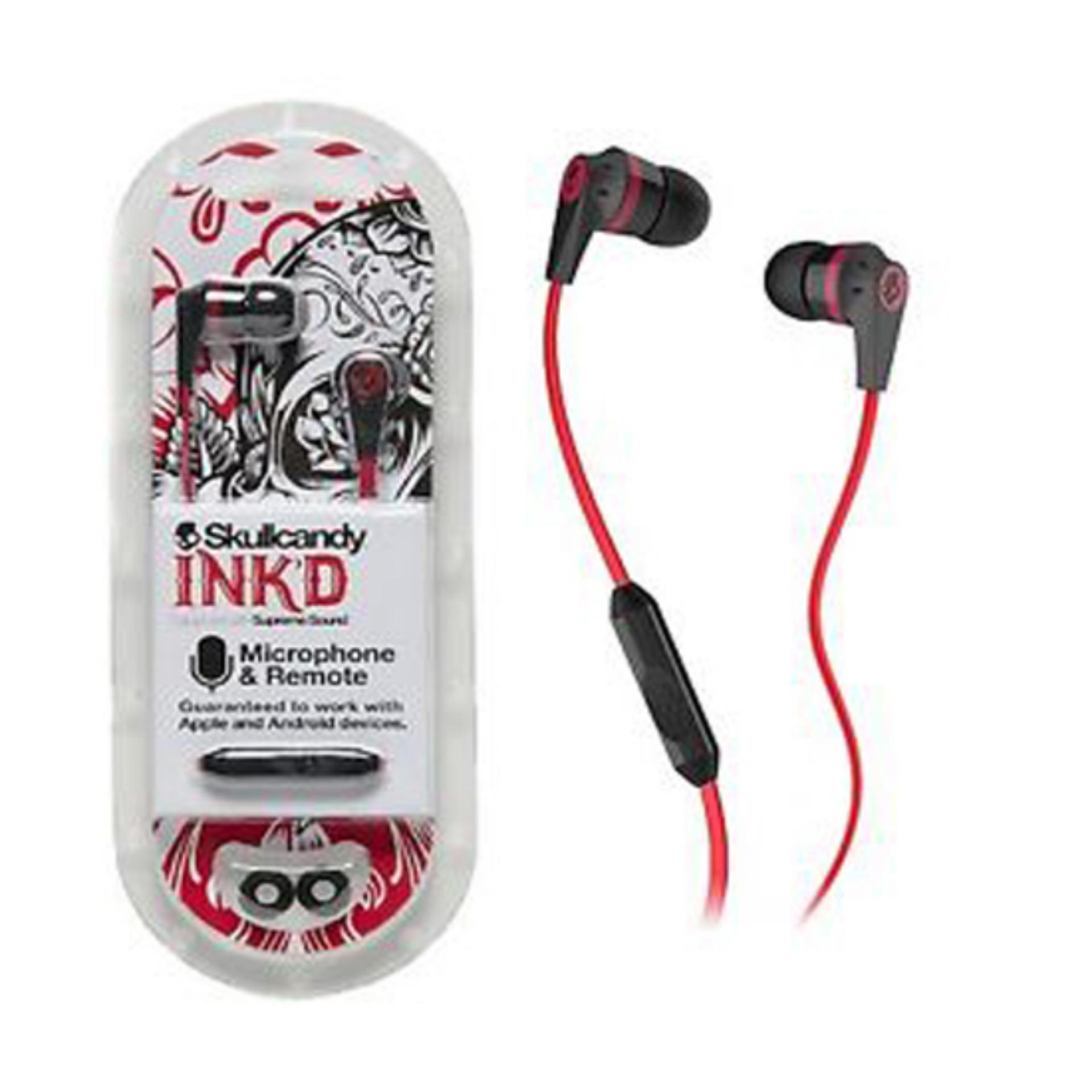 ... Skullcandy INK'D Supreme Sound 2.0 Original - Merah ...