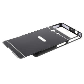 Slide-on Metal Bumper PC Case for Sony Xperia Z3 Compact D5803 D5833 M55w -