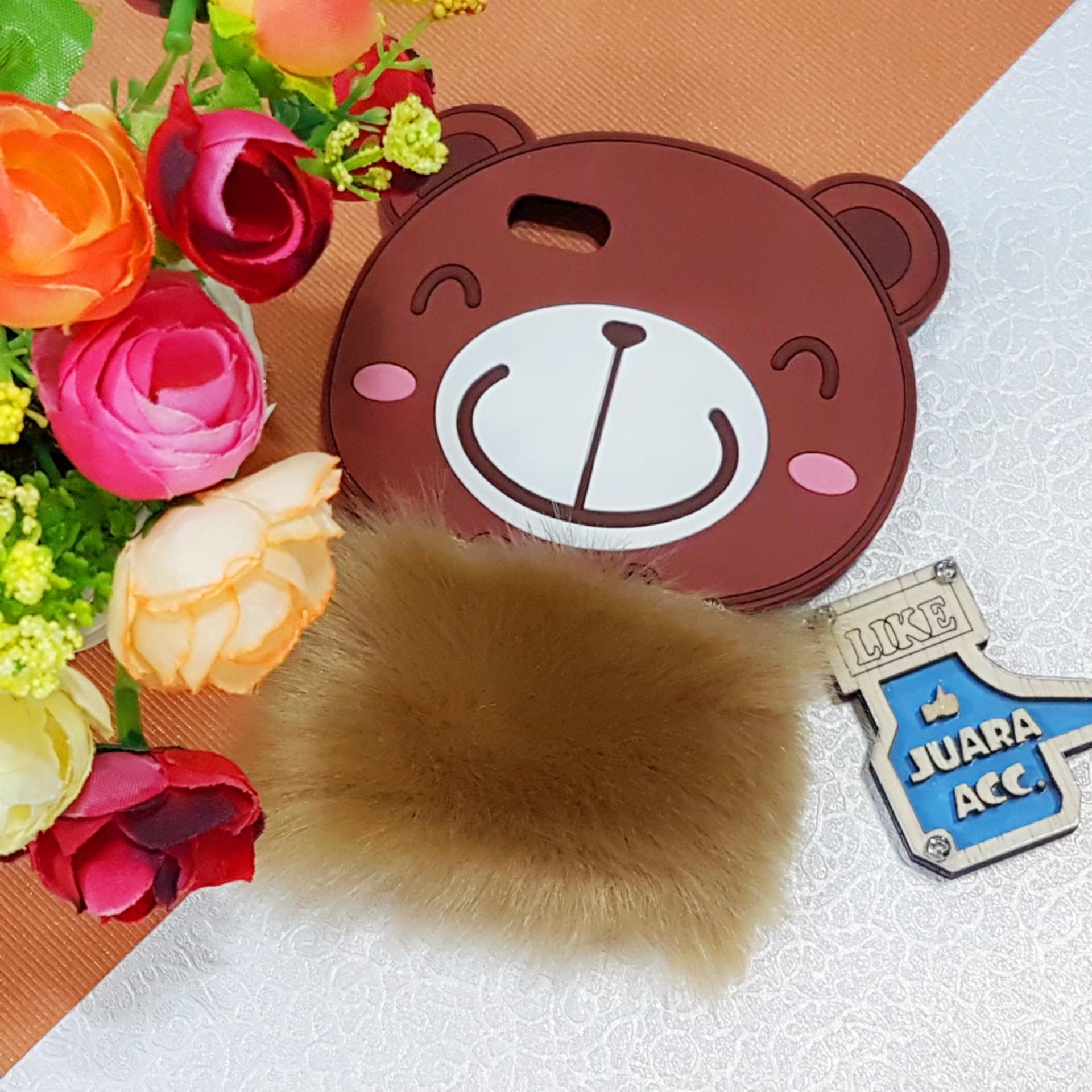 Bandingkan Toko Slikon 3d Bear Fun Design Bulu Lembut Lucu Unik