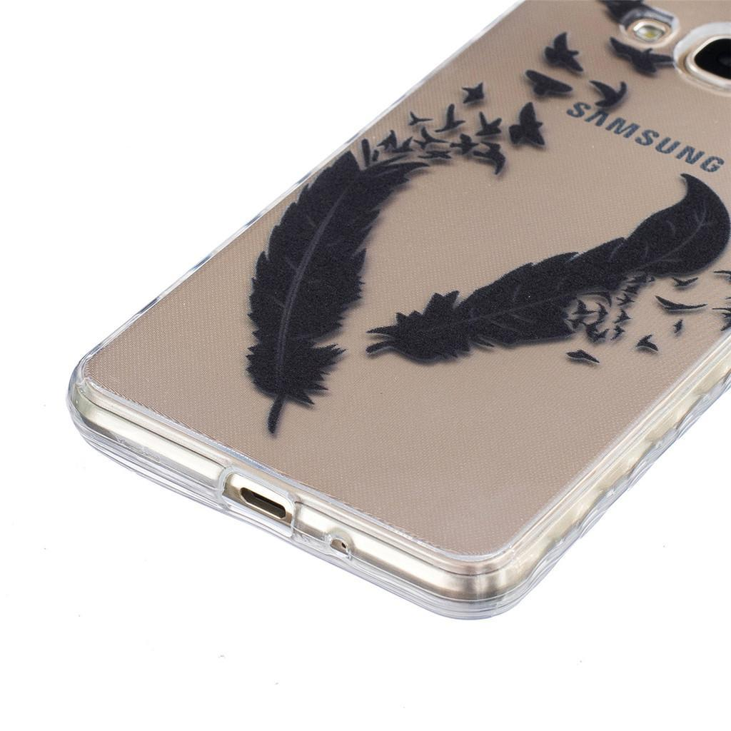 Slim Flexible TPU Gel Silicone Shell Protection Cover phone Casefor Samsung Galaxy J3 .