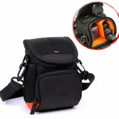 SLR Camera Cover Case untuk Fuji X10 X20 X30 X70 Camera Case FinePix X100 X100S X100T Shoulder Bag dengan Strap -Intl