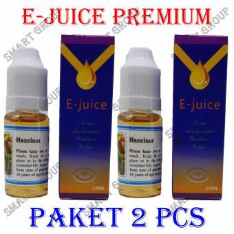 Smart Premium E-Liquid E-Juice Rokok Elektrik - Hazelnut 2pcs