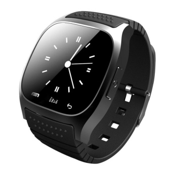 Smart Watch M26 Woman Men Bluetooth Smartwatch For Android IOS Smartphone - intl