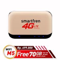 Smartfren Mifi M5 70GB(6 Bulan)-Modem Wifi-Router