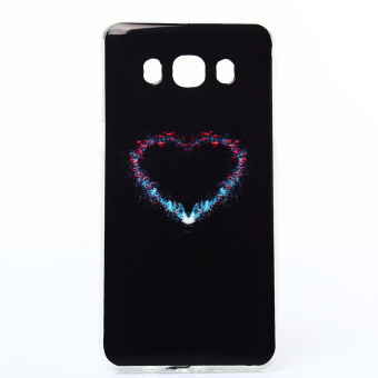 Soft IMD TPU Case for Samsung Galaxy J5 (2016) - Colorized Heart