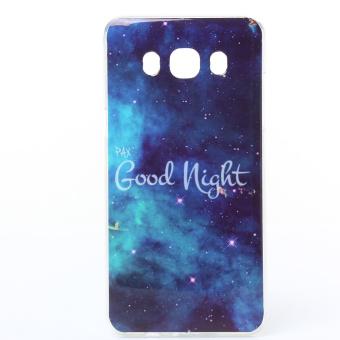 Soft IMD TPU Shell Case for Samsung Galaxy J5 (2016) - Good Night