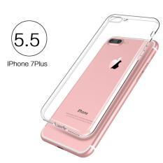 Softcase 360 Bening Iphone 7/7 Plus Full Casing Body Silikon Case