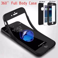 SOFTCASE CASE SILICON 360 IPHONE 7+PLUS(5.5) FULL COVER DEPAN BELAKANG CASE