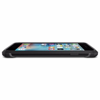 Harga Softcase Casing for Iphone 5 5S Back Cover Spigen Rugged Capsule [ Hitam] Terbaru