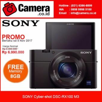 SONY Cybershot DSC RX100 M3 Kamera Pocket Hitam