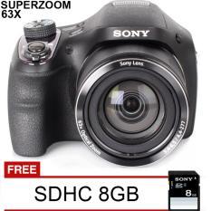 Sony DSC-H400 - 20.1 MP - 63x Optical Zoom - Free SDHC 8GB