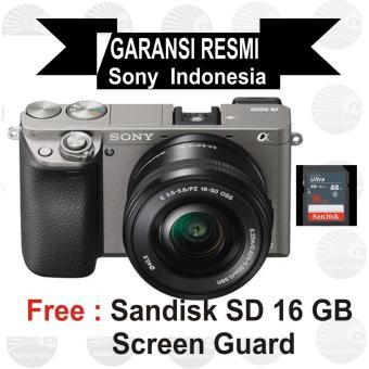 Sony ILCE Alpha A6000L E PZ 16-50mm f/3.5-5.6 OSS - Grey