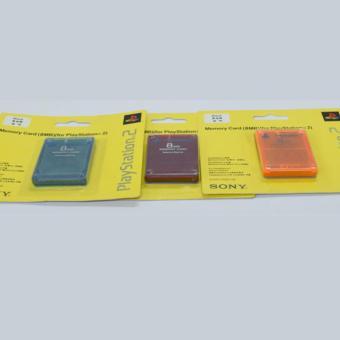 Sony Memory Card For Playstation 2 8MB Warna (1 pc)