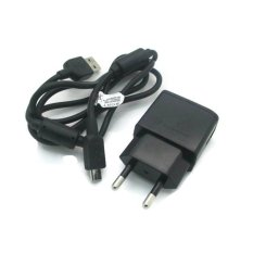 Sony Original Charger Xperia EP800 + Micro Usb Kabel - Hitam