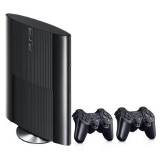 SONY Playstation 3 Super Slim 500GB FULL GAME Extra Controller