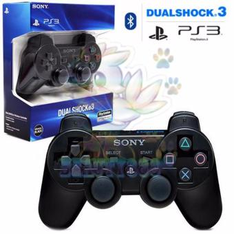 Sony Playstation Ps3 Stick DualShock Wireless Controller / GamepadJoy Stik Ps 3 / Sony Stik Ps3 - Black / Hitam