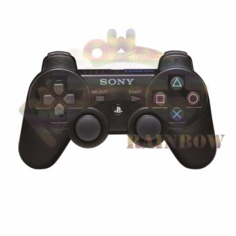 Sony Stick Playstation 3 Dualshock Wireless Tecknologi ControllerOriginal + Battery / Stik PS 3 / Setik PS3 / Gamepad Joy Stick Ps 3- Hitam