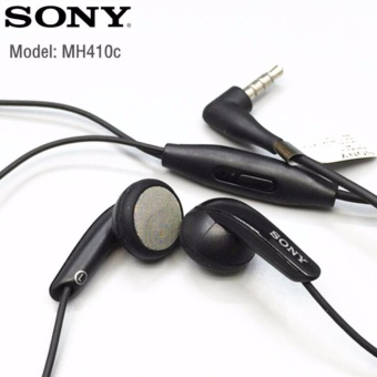 Sony Xperia Hansfree / Headset / Bass Earbud MH-410C Black Universal Gadget