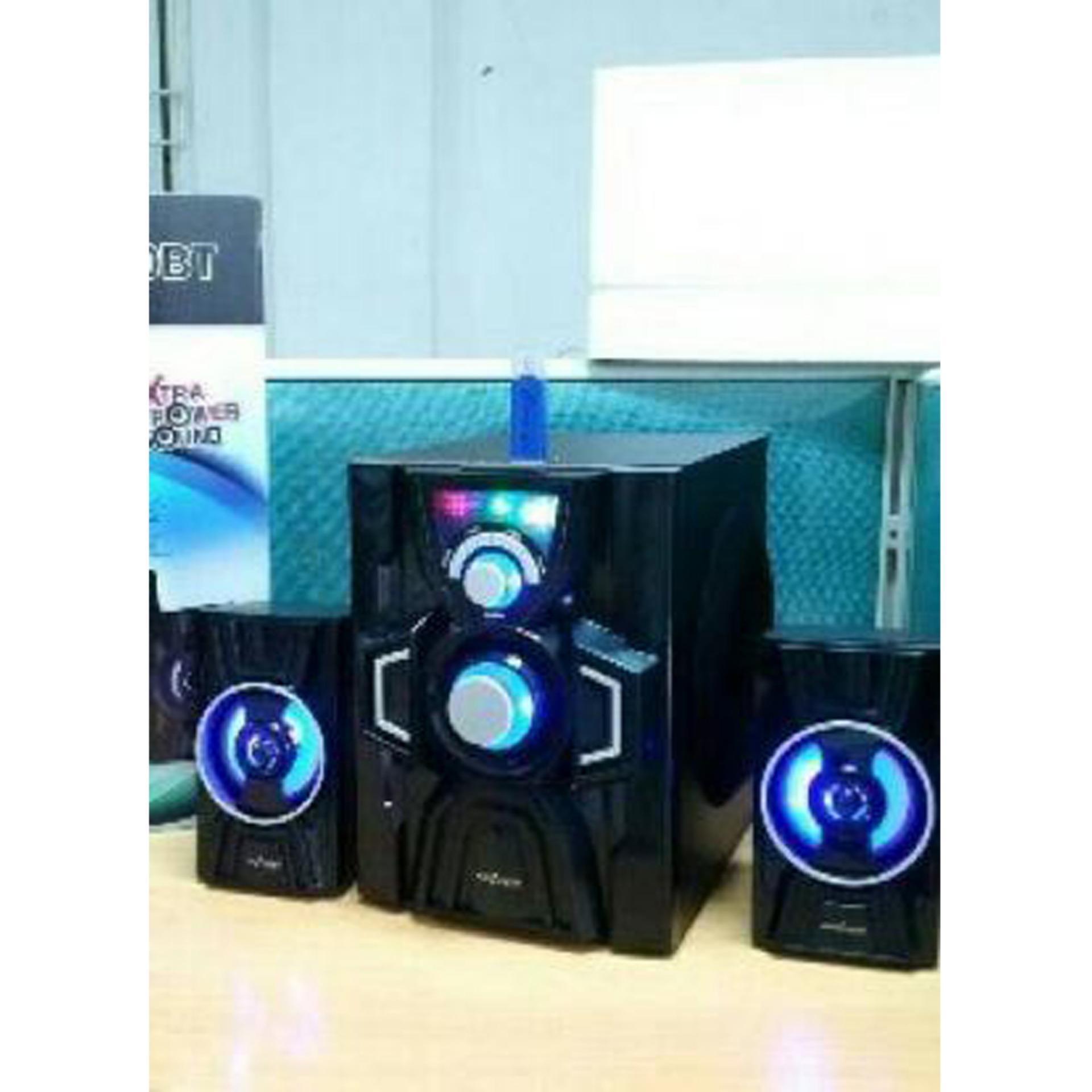 SP Speaker Advance M20BT Bluetooth Speaker - Hitam [Subwoofer System] .