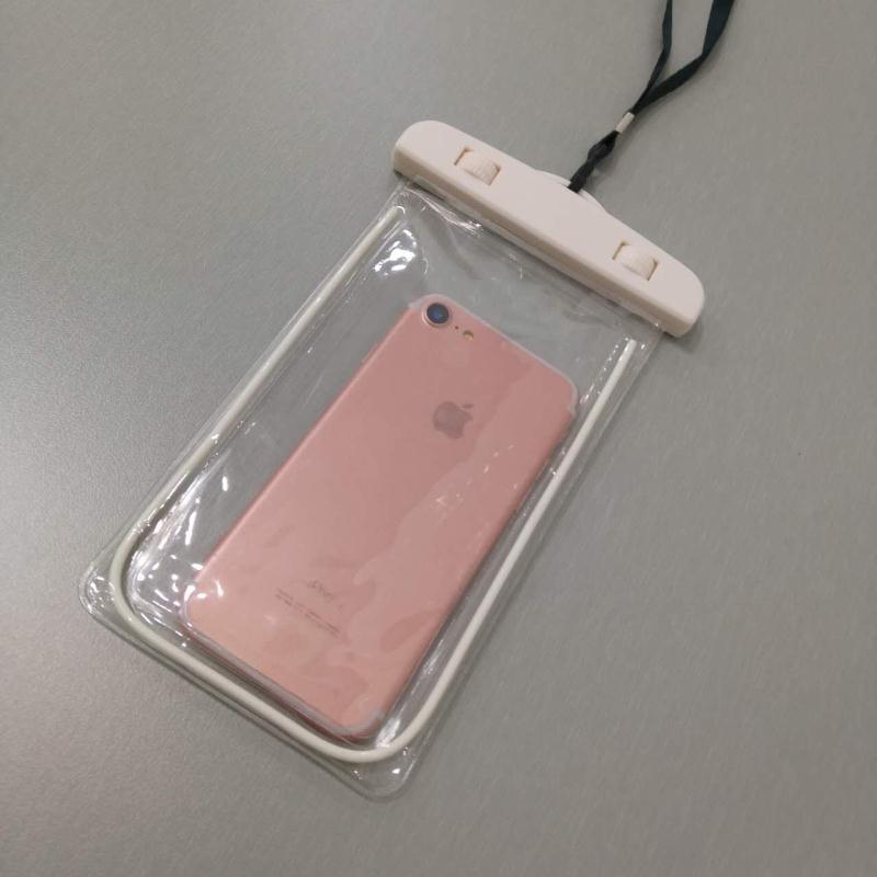 Spa iphone7plus layar sentuh renang Apple ID handphone shell handphone tas tahan air menyelam set
