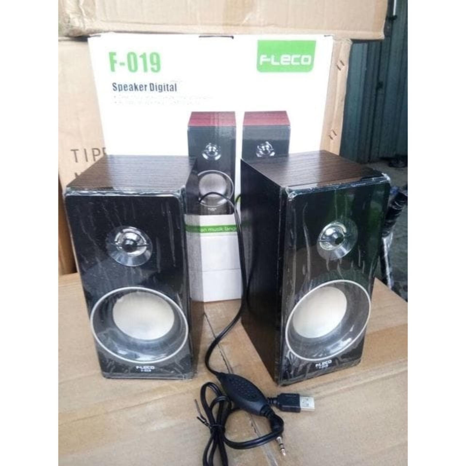 Flash Sale Speaker Fleco F 019 Termurah Terlaris Eshop Checker Aktif Telaris Extra Super Sound