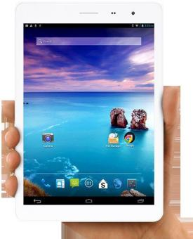 Speedup Pad 7,85 - 32 GB - White + Gratis Micro SD 8GB