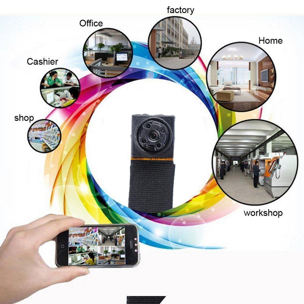 Spy Camera JDM HD 1080P Mini Hidden Wifi Camera P2P PortableWireless Cam Motion Detection Digital Video Recorder IndoorSecurity Surveillance Cameras - intl