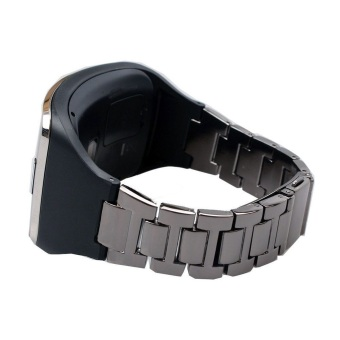 Stainless Steel Bracelet Wrist Band Strap + TPU Holder for SamsungGalaxy Gear S SM-R750
