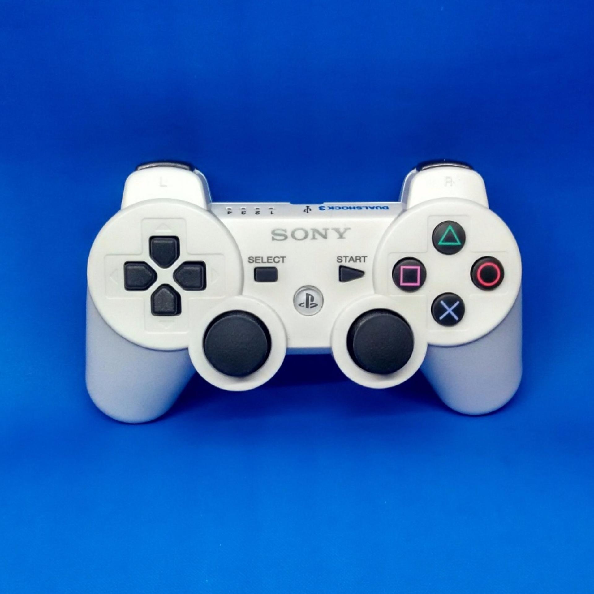 Harga Penawaran Stik Ps3 Playstation 3 Wireless Controller White Ps Op Flash Sale
