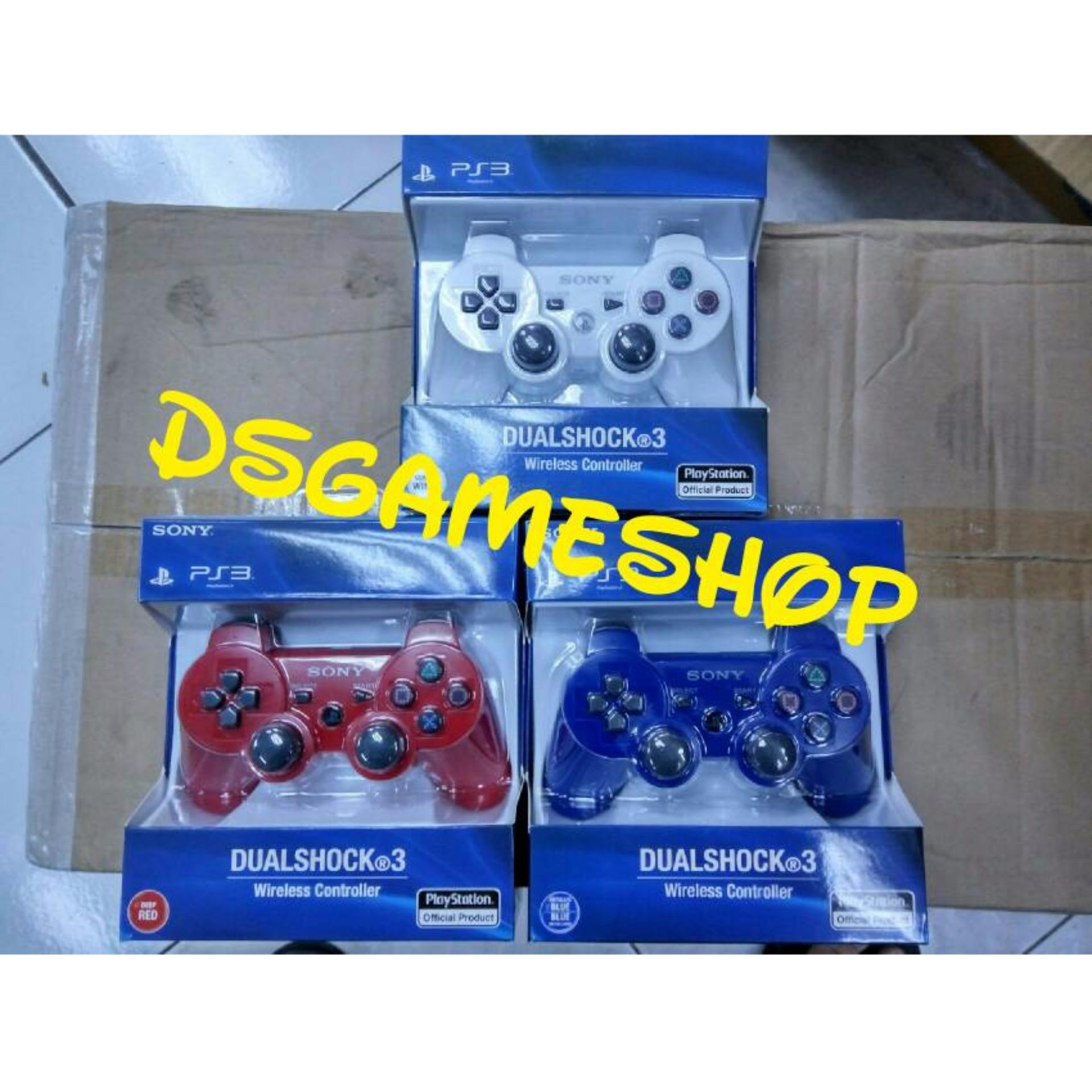 Stik Stick Ps3 Wireless Ori Pabrik Op Warna Biru Merah Putih Playstation 3 2nd Werles