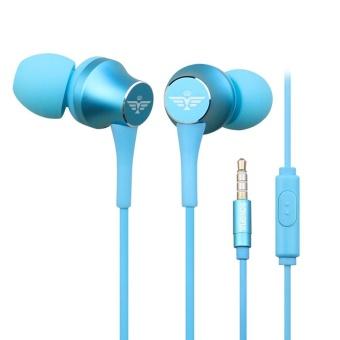 Super Bass Stereo In-Ear Earphone Sport Headset with Headphone Storage Bag - intl