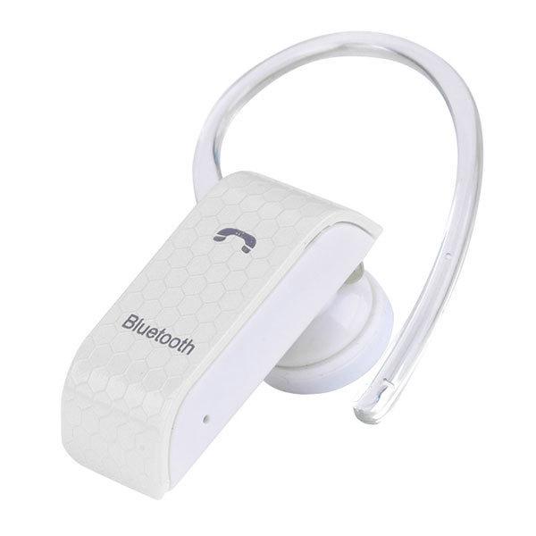 ... SuperCart Universal Wireless BT300 Mobile Bluetooth HeadsetEarphone (White) ...