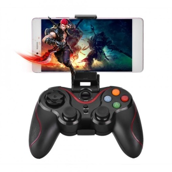 T3- Bluetooth Wireless Game Controller Gamepad Joystick for iOS Android Cellphone Tablet TV Box - intl