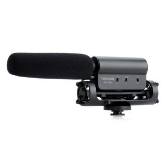 Takstar SGC-598 profesional mikrofon stereo untuk DV/DSLR kamera - Hitam (1 x AA)
