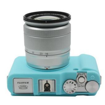 Tas kamera Video PVC case silikon untuk Fuji Fujifilm XA1 XA2 XM1XM2 tas pelindung (hitam