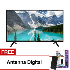 TCL 40 inch HD Ready Smart LED TV - Hitam (Model 40S4900)