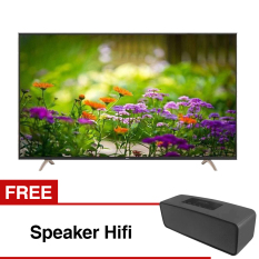TCL 55 inch Smart LED TV - Hitam (Model 55S6000) Free Speaker Hifi