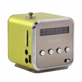 TD-V26 Radio FM Music Box With Mp3 Player Functions. Micro SD,USB