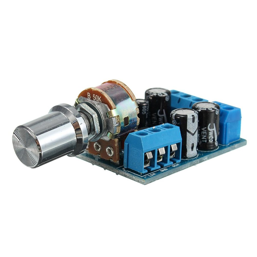 Online Murah Tda2822m 1w2 Dc 18 12v 20 Channel Stereo Audio 1w Headphone Amplifier Based Tda2822 Board Intl