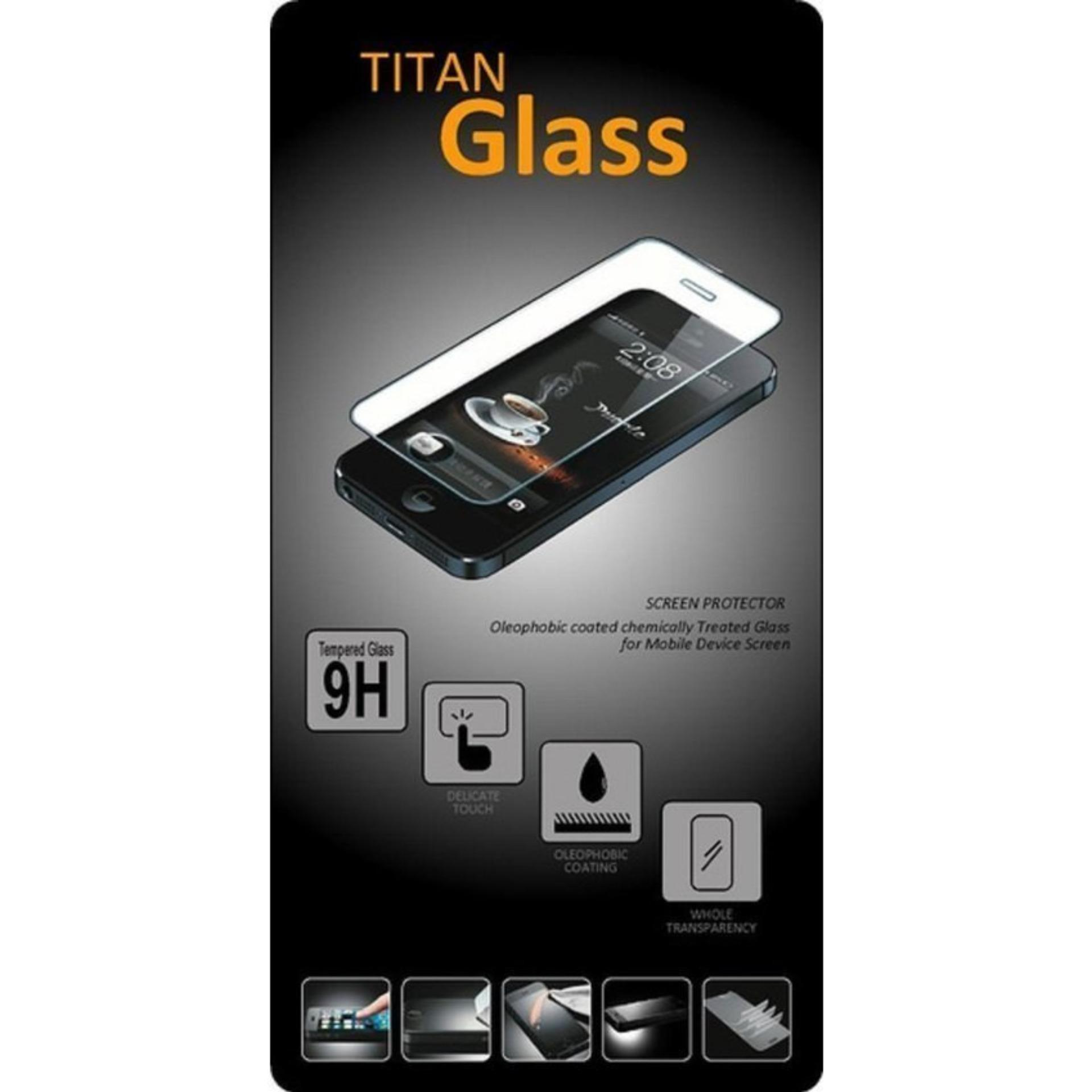 Flash Sale Tempered Glass Titan for Oppo F1s / A59 Selfie Expert - RoundedEdge 2.5D - Clear