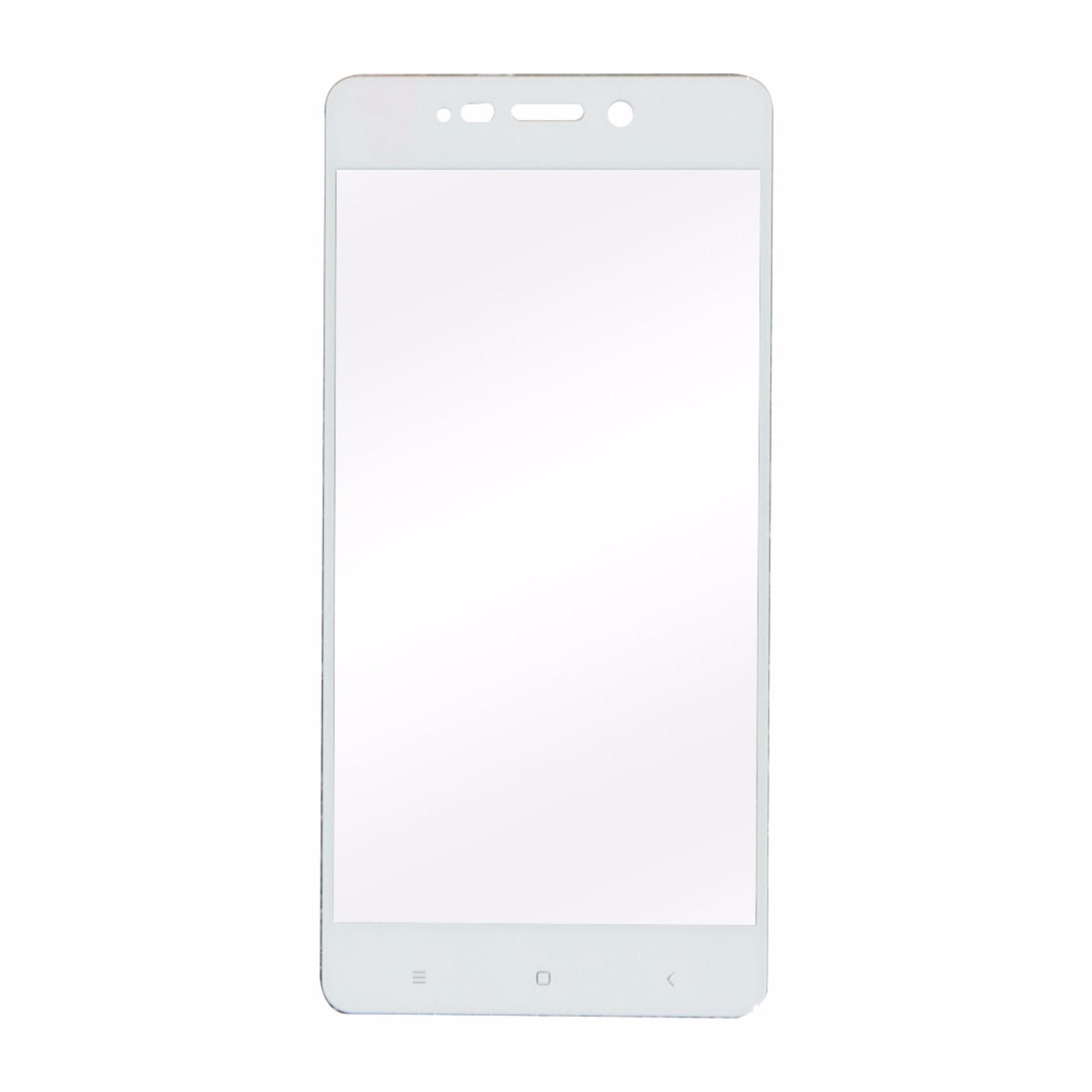 Tempered Glass Xiaomi Redmi 4 Temper Glas FullScreen Full Screen Protector Pelindung Kaca Layar HP Guard