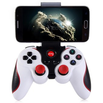Terios T3 Wireless Bluetooth 3.0 Gamepad Joystick for Android Smartphone - intl