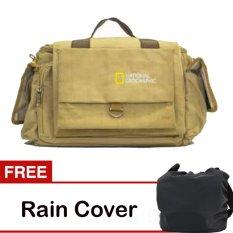 Third Party Tas Kamera National Geographic - Krem + Free Rain Cover