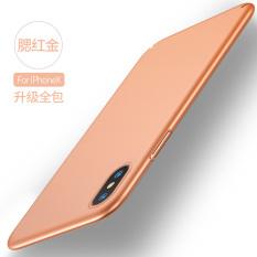 Tide merek 8 PLUS/I8 Apple set matte tipis cangkang keras handphone shell