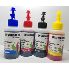 Tinta Hp 678,680,802,803,46,60,21 100ml (1 Set 4 Warna)