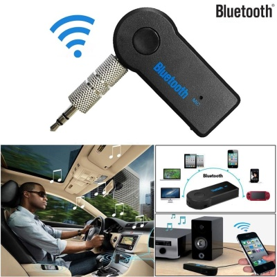 TOMATOLL Details about Wireless Bluetooth 3.5mm AUX Audio StereoMusic Home Car Receiver Adapter Mic - intl