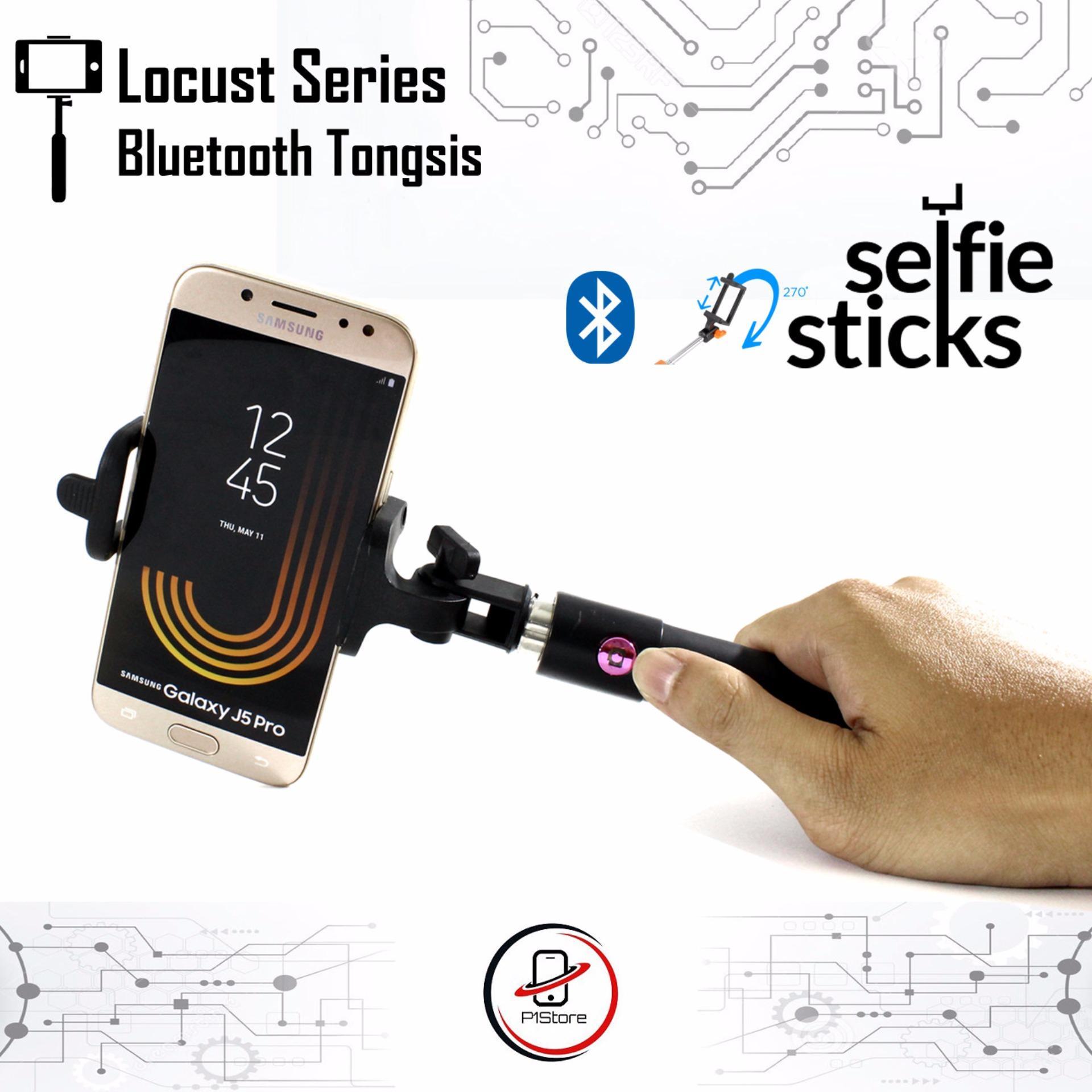 Tongsis Monopod Bluetooth Locust Series Fotopro Tombol Tomsis DSLR .