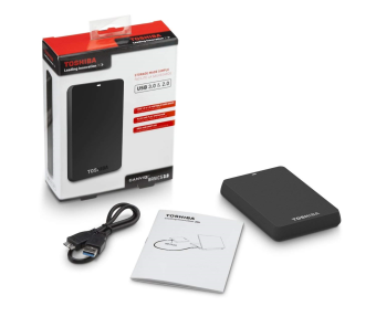 TOSHIBA Canvio Hardisk External 500gb